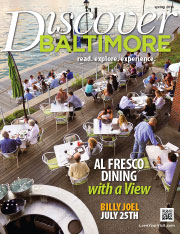 Discover Baltimore Magazine Design