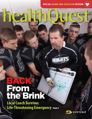 HealthQuest Magazine Design