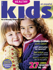 Healthy Kids en Espanol Magazine Design