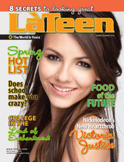 LaTeen Magazine Design