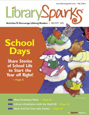 Library Sparks Magazine Design