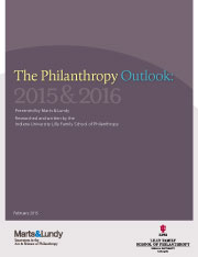Philanthropy Outlook Annual Report