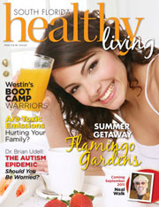South Florida Healthy Living Magazine Design