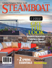 Steamboat Magazine Design