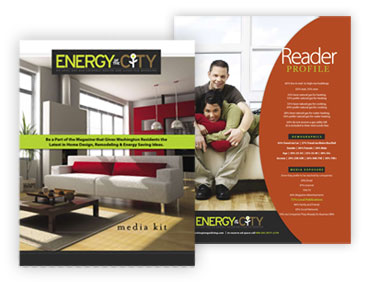 Energy of the City Magazine media kit design